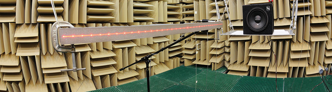 Structural acoustics laboratory.
