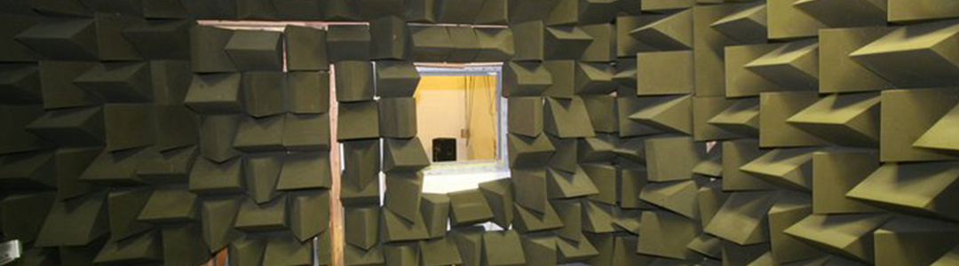 anechoic chamber for teaching and student projects