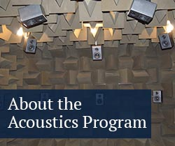 about the acoustics program