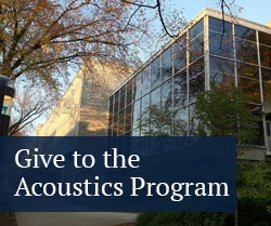 give to the acoustics program