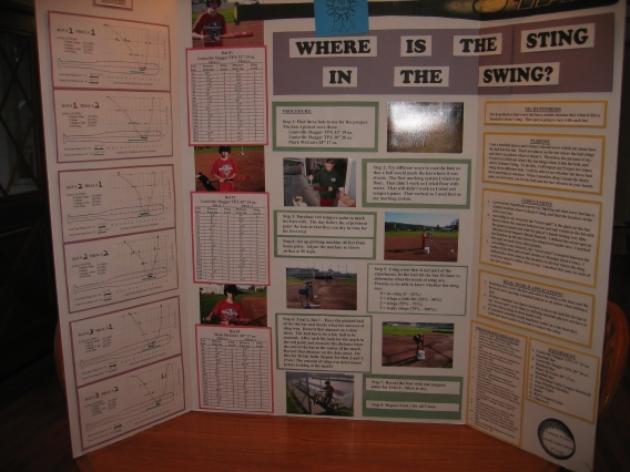 baseball science projects Ideas for sports science fair projects that will enable you to explore your favorite sports and learn more about the principles at work behind them.